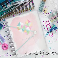 The original Frosted Wrap Cover is BACK IN STOCK! All planner types welcomed!!!
