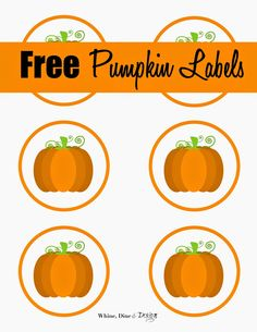 A few weeks ago I made pumpkin bread for a bake sale to support an animal rescue group. I thought they breads looked a little plain so I . Pumpkin Printable, Free Printable Gift Tags, Free Printables, Bread Gifts, Brunch, Diy And Crafts Sewing, Baby Shower Fall, Baby In Pumpkin, Bake Sale