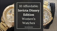 10 Best-selling and Affordable Invicta Disney Edition Women's Watches