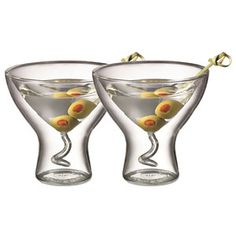 Martini Glass Set Of 2 now featured on Fab.