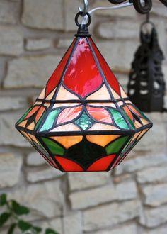 Bell Shaped Pendant Lantern