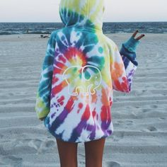 """42.3k Likes, 441 Comments - Ivory Ella (@ivoryella) on Instagram: """"Our Oversized Rainbow Tie-Dye Hoodie is now RESTOCKED! ❤"""""""