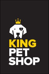 Identidade visual para o King Pet Shop, em Brasília / DF.