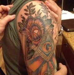 A fresh Freemason tat