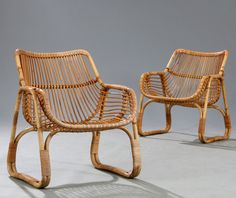 peter hvidt & orla mølgaard - low manilla chair