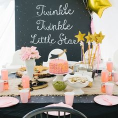 Twinkle Twinkle Little Star! First Birthday Party!