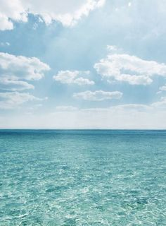 Dreamy blue#sea#sky