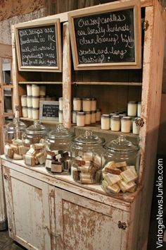 Dreamy vintage junk shop ideas for decorating your own booth pertaining to antique booth display ideas