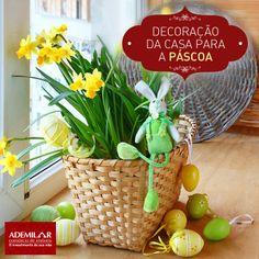 Confira decorações típicas de Páscoa: http://magicweb.me/eRL