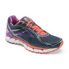 65e13616542 WOMENS SHOES   Brooks Adrenaline GTS 15 Women Black Purple Plantar  Fasciitis Shoes