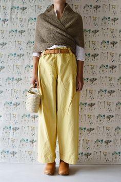 Daniela Gregis triangolo shawl