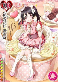 Yazawa Nico - Love Live [Cards] [Parte - Manga y anime en Taringa! Anime Love, Vocaloid, Kawaii Anime, Kawaii Girl, Anime Girls, Manga Anime, Love Live School Idol Project, Chibi Food, Childhood Friends