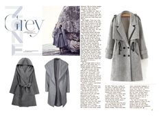 """Grey"" by aurora-ane ❤ liked on Polyvore featuring ONLY and grey"