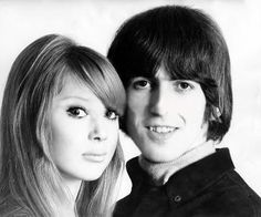 GeORGe HaRRisOn AND PaTTie BOyD CuteSt 60s CoUPLe VinTaGe Photo This Was Uploaded By