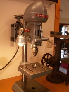 Old small drill press inspiration needed