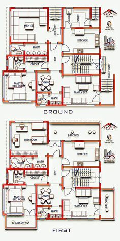 Trendy ideas for house plans one story 2000 sq ft india 2bhk House Plan, 3d House Plans, Simple House Plans, Model House Plan, Duplex House Plans, House Plans One Story, Southern House Plans, Family House Plans, Best House Plans