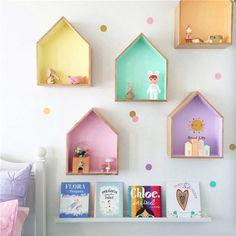 Export Europe ins prevailing cabins house shelves Decoration ornaments box children room decoration