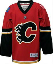 NHL Calgary Flames Jersey. I want one so bad!