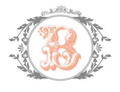 Free customizable monogram