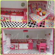 Casa con guarda juguetes - Cocina