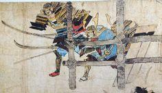 Asian Artwork, Samurai Art, Japanese Culture, Mythology, Medieval, Moose Art, History, Painting, Twitter
