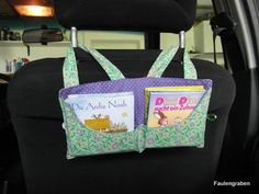 Anleitung Pixibuch-Sammler, pixibuch Tasche, tasche für kleine Bücher zum Tragen und einhängen ins Auto als Organizer.