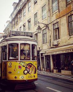 """@tetealler.wanderlust on Instagram: """"In this city felt like a dream 🚠💛 ___________________________________ #lisbonlovers #lisbon🇵🇹 #europe #mujeresymaletas #travelgram…"""" Lisbon, Travel Inspiration, Wanderlust, Street View, Felt, Europe, Journal, City, Instagram"""