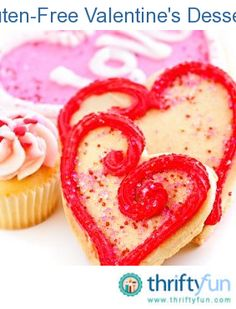 This guide contains gluten-free Valentine's dessert recipes. Being gluten-free doesn't mean you can't enjoy treats on Valentine's Day. There are many desserts that have gluten-free versions that are delicious.