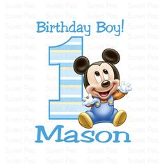 105 Best Baby Mickey Party Images On Pinterest Mickey Party
