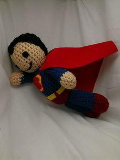 Superman Crocheted Doll via Etsy.