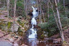 Buttermilk Falls...waterfall hunting in Warren County, NJ