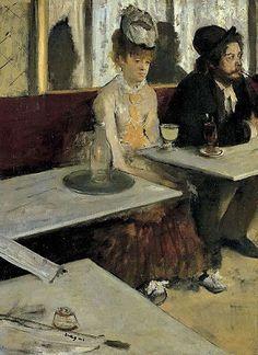 """Las Grandes Obras de Arte: 41.""""Los bebedores de ajenjo"""" (1876) de Edgar Degas"""