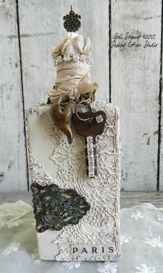 Shabby Cottage Studio - Blog - More Bottles!