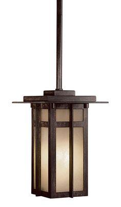 Iron Oxide One Light Chain Hung Fixture Craftsman Outdoor Lighting, Pendant Lighting, Chandelier, Light Chain, Iron Oxide, One Light, Kitchen Lighting, Ceiling Lights, Home Decor
