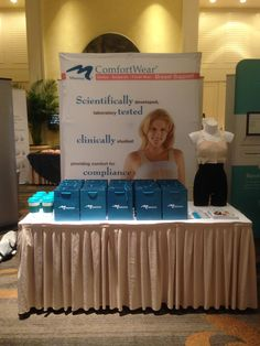 Set-up complete for the Atlanta Breast Symposium