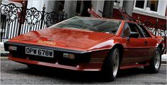 Lotus Esprit - my first car crush