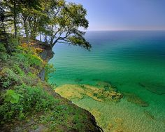 """Michigan's Paradise""  Lake Superior , Pictured Rocks National Lakeshore by Michigan Nut, via Flickr"