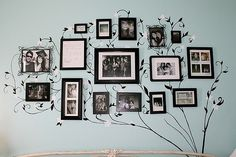 cute idea for family pics, love this, in the hallway