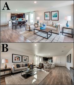 Both the Windhaven plan, which family room DECOR suits you MORE?!