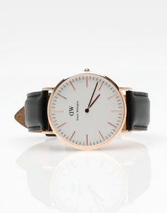 Daniel Wellington rose gold watch, classic sheffield