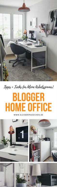 Fashion Blogger Home Office, stylisches Home Office, Büro für - homeoffice einrichtung ideen interieur