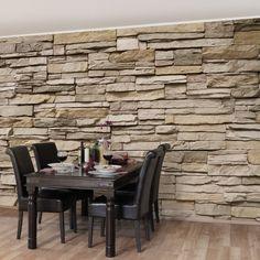 die besten 25 tapete in steinoptik ideen auf pinterest steinoptik wand tapete steinoptik und. Black Bedroom Furniture Sets. Home Design Ideas
