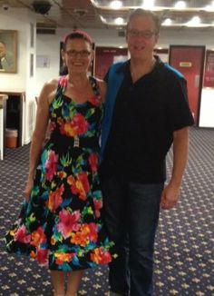 "Hi Maria, Here is a pic of the dress I made.  My new saying shall be "" you too can have one of your own- just buy The Pattern Drafter and start designing! P.S Made Dave's shirt too! Joanne Duncan"