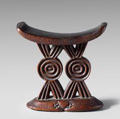 Africa | Headrest from the Shona people of  Zimbabwe. | Wood | 19th century.