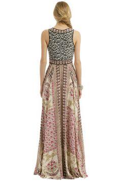 Marchesa Voyage Spices of Morocco Maxi - ShopStyle Evening Rent Dresses, Casual Dresses, Boho Chic, Bohemian Style, Kimono Design, Evening Dresses, Summer Dresses, Dress Images, Boho Outfits