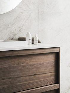 Wood Bathroom, Bathroom Furniture, Pella Hedeby, Lets Stay Home, Bathroom Goals, Nordic Interior, Wood Detail, Beautiful Bathrooms, Bathroom Inspiration