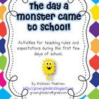 manners first days of school