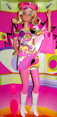 Sixties Fun Barbie Fun - Sams Club 1997 by Rojo_C, via Flickr