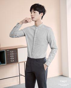 박보검 TNGT 매직 쿨 셔츠 170406 [ 출처 http://tngtblog.com/220975862487 ]