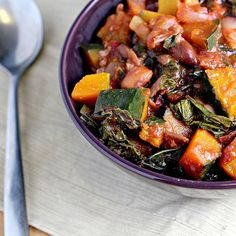 ... | Swiss chard recipes, Sauteed swiss chard and Cranberry beans